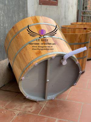 đáy thùng gỗ sơn dầu chống thấm cao cấp