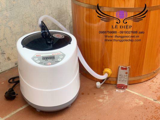 máy xông hơi mini công suất 1000w dung tích 2l