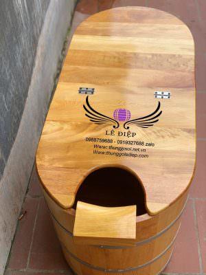 nắp giữ nhiệt cho thùng gỗ