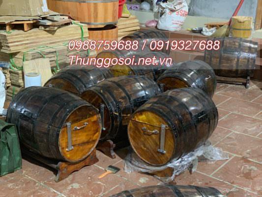 bán thùng ướp rượu bia