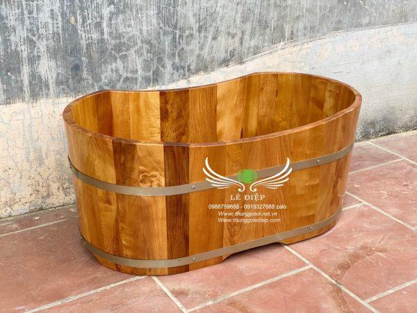 bồn tắm gỗ trẻ em cao cấp