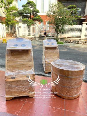 bàn giao thùng gỗ HCM