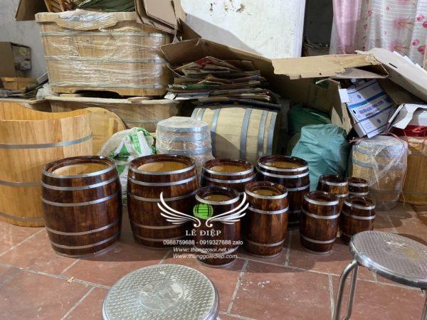 bán thùng gỗ làm loa