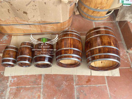 thùng làm loa gỗ thông
