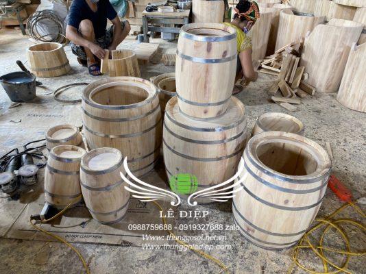 thùng loa bằng gỗ