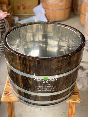 bom ướp rượu gỗ thông