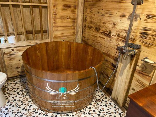 bồn tắm resort cao cấp