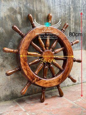 bánh lái tàu thuỷ trưng bày