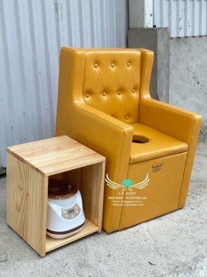 ghế ngồi xông vùng kín