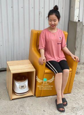 ghế xông vùng kín cao cấp