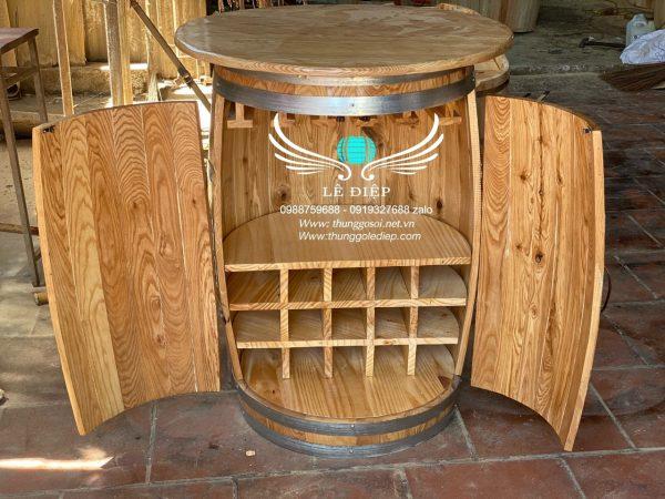 bàn ghể trang trí quán bar