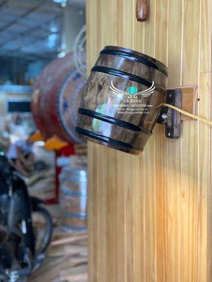 bán thùng gỗ