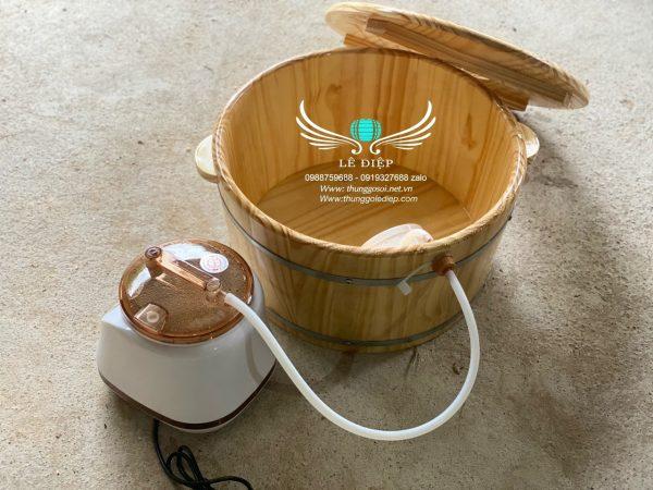 bồn gỗ ngâm mông