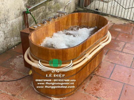bồn tắm sục spa