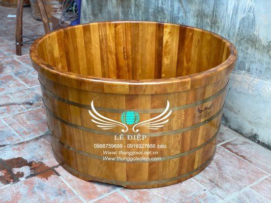 bồn tắm gỗ resort cao cấp