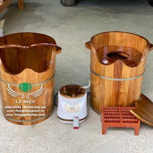 thùng gỗ xông hơi phụ khoa cao cấp